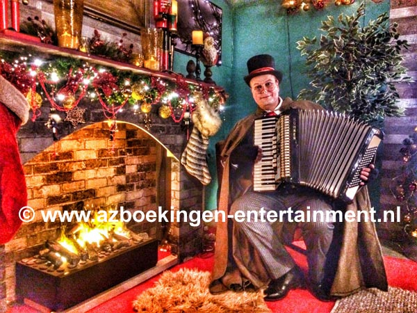 Dickens Accordeonist 1