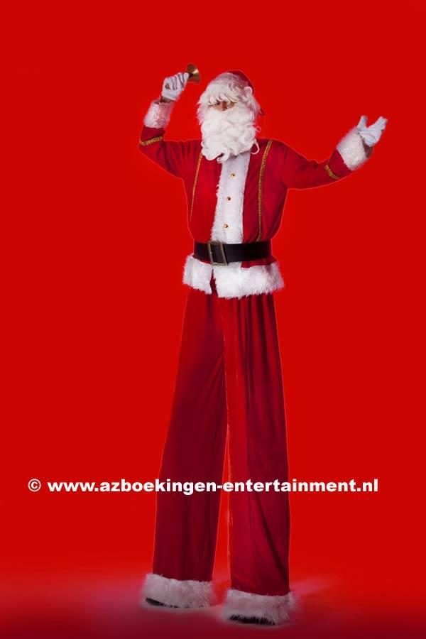 Kerstman op Stelten