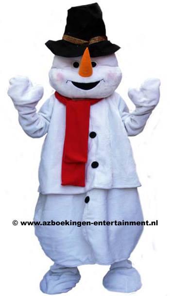 Levende Sneeuwpop