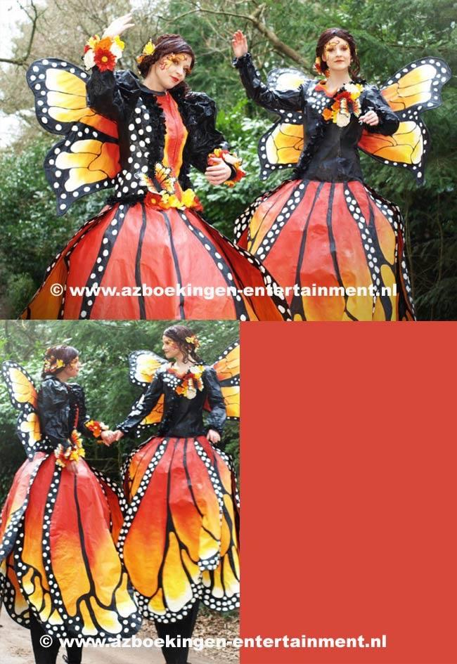 Vlinders op Stelten