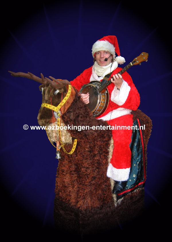 Kerst-Banjoman op Rendier