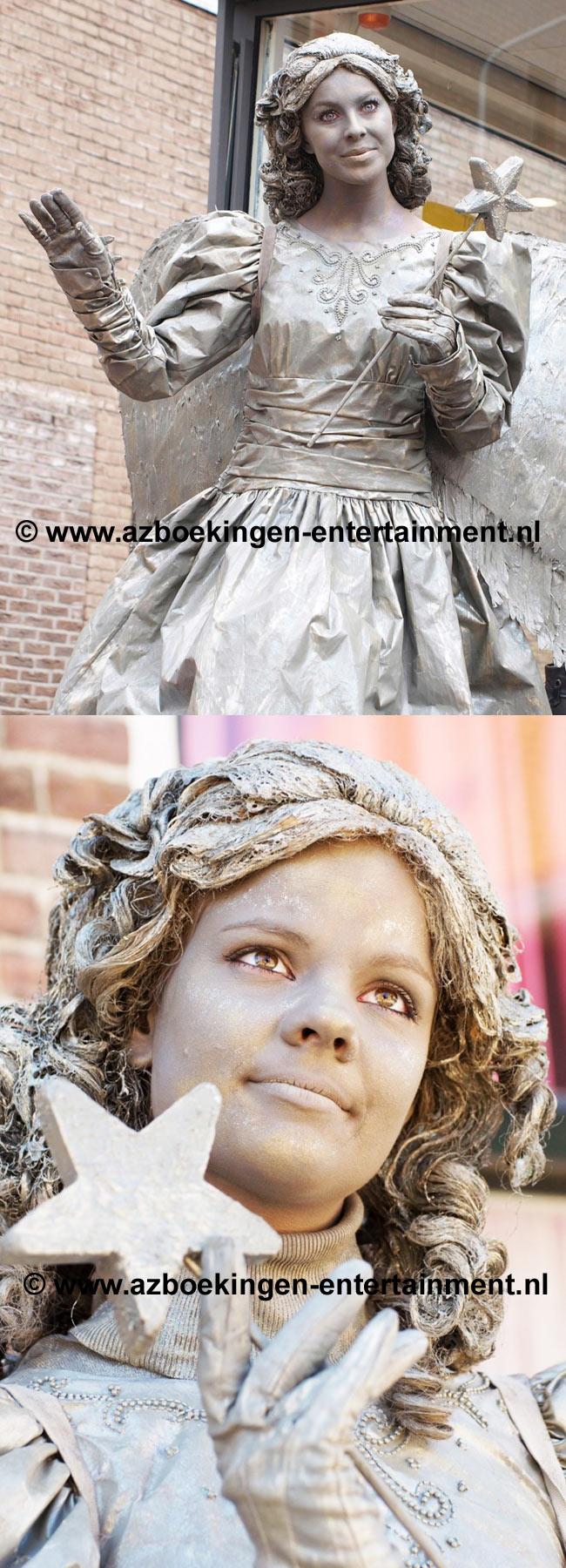 De Engel (Levend Standbeeld)