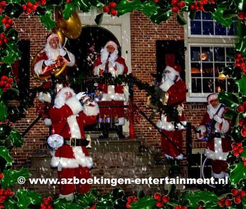 Dixielandband Kerstmannen