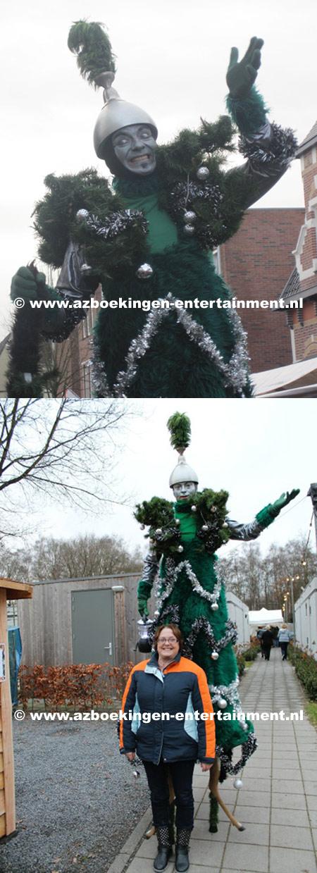 Kerstboom op Stelten