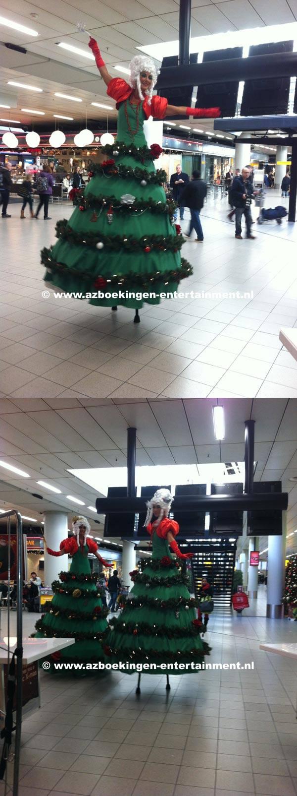 Kerstdames op Stelten