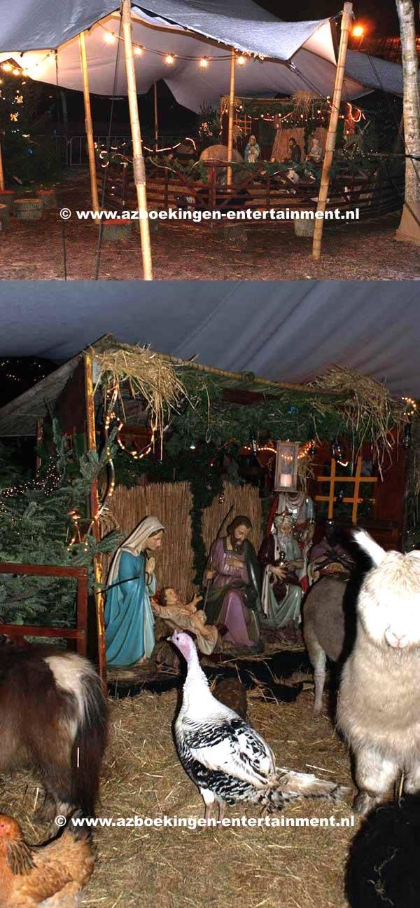 Levende Kerststal 1