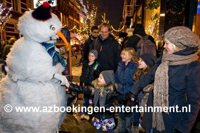 Professionele Sneeuwpop