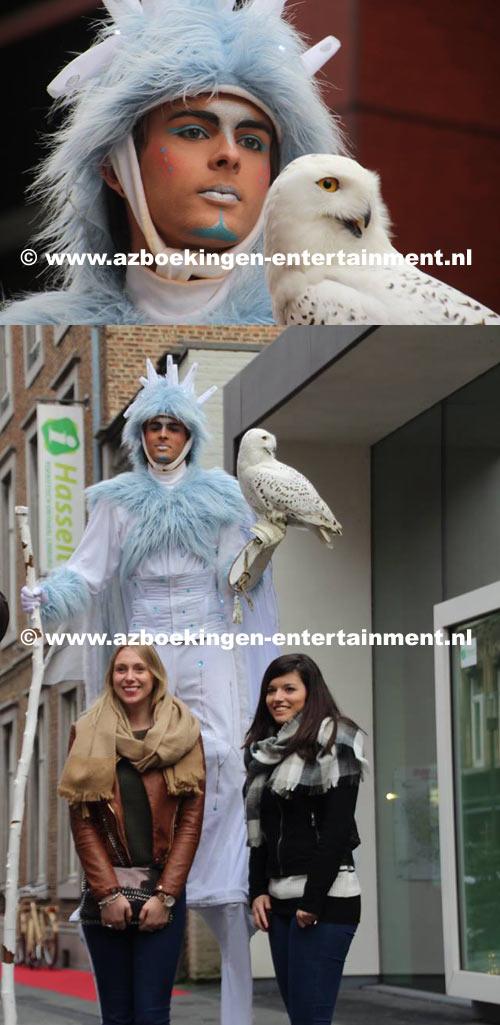 Koning Winter met Sneeuwuil